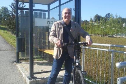 Bürgerombudsmann Sascha Schroll ist unterwegs für die Sicherheit unsererKinder!